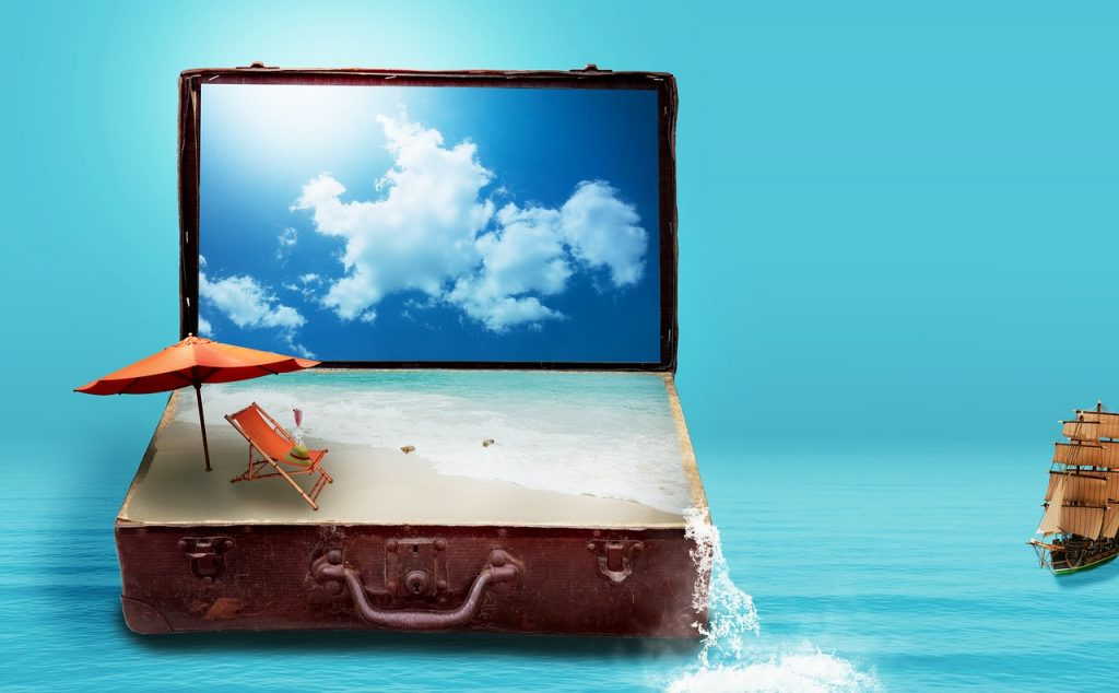 Płatności na wakacjach